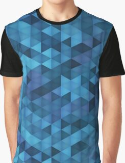 Swimming Pool Blue Graphic T-Shirt
