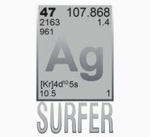 Silver Surfer Kids Tee