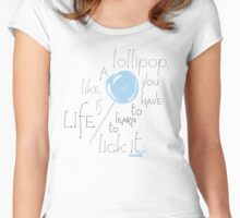 Lollipop Women's Fitted Scoop T-Shirt