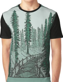 Carbon Canyon Redwood Grove Trail Graphic T-Shirt
