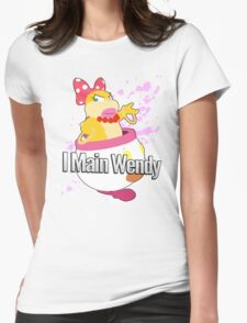 I main Wendy - Super Smash Bros Womens Fitted T-Shirt