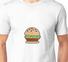 Burger Off Unisex T-Shirt