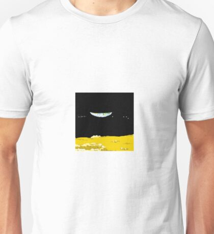 New Earth seen from the Moon Unisex T-Shirt