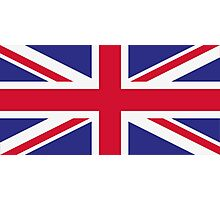 National flag of Great Britain Photographic Print