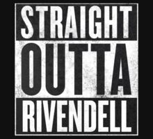 Straight Outta Rivendell Kids Clothes