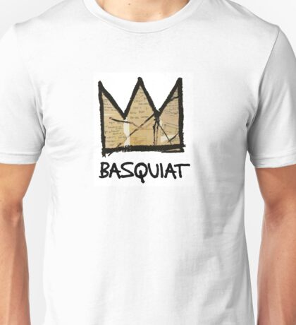 King Basquiat Unisex T-Shirt
