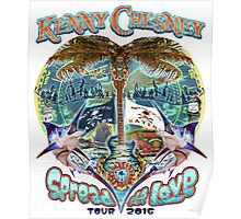 KENNY CHESNEY TOUR 2016 SPREAD THE LOVE Poster