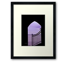 View over the Bay Framed Print