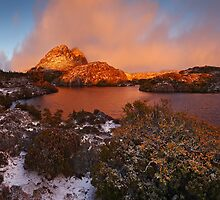Fire and Ice - Twisted Lakes  Cradle N.P. by Mark Shean