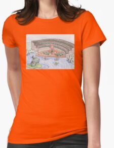 Reddy Fox and the Frog Chorus Womens Fitted T-Shirt