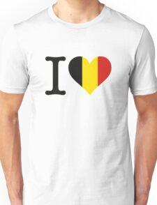 I Love Belgium Unisex T-Shirt