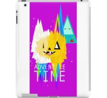 adventure time triangle  iPad Case/Skin