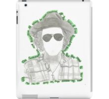 Harry Styles Favorite Tweets. iPad Case/Skin