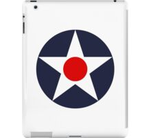 United States Naval Aircraft Insignia, 1919-1942 iPad Case/Skin