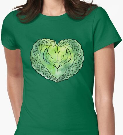 Rohan Love Knot Womens Fitted T-Shirt