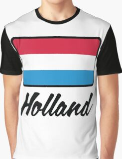 National flag of Holland Graphic T-Shirt