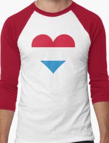 A heart for Holland Men's Baseball ¾ T-Shirt