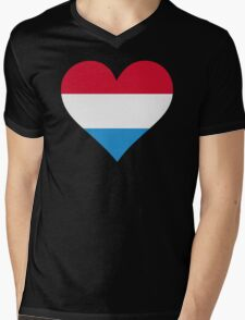 A heart for Holland Mens V-Neck T-Shirt