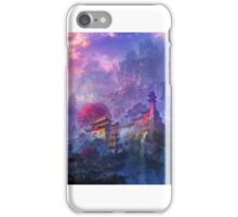 Fantasy oriental temple iPhone Case/Skin
