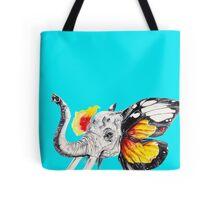 L'éléphant Magnifique Varient 3of 4 Tote Bag