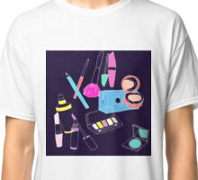 Retro Make-up Classic T-Shirt