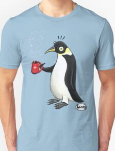 Penguin with hot coffee Unisex T-Shirt
