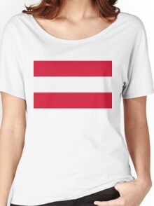 National Flag of Austria Women's Relaxed Fit T-Shirt