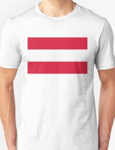 National Flag of Austria T-Shirt
