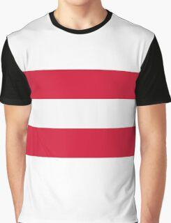 National Flag of Austria Graphic T-Shirt