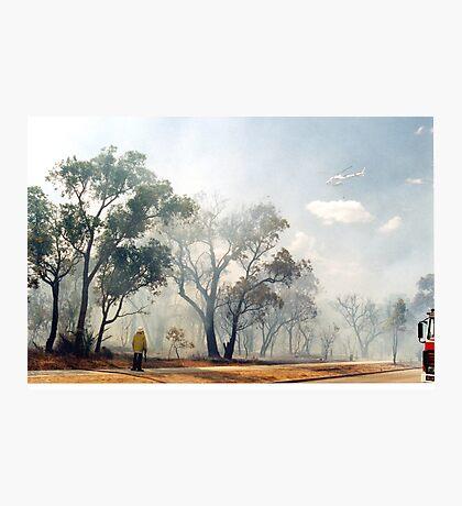 Fire, Perth, Western Australia Photographic Print