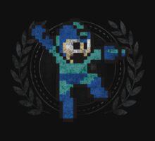 Mega Man - Sprite Badge by garudoh