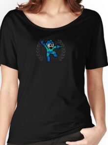 Mega Man - Sprite Badge Women's Relaxed Fit T-Shirt