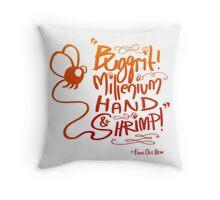 Buggrit Throw Pillow
