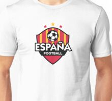 Football emblem of Spain Unisex T-Shirt