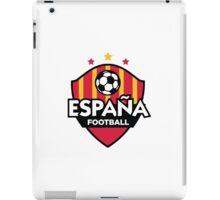 Football emblem of Spain iPad Case/Skin