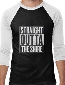 Straight Outta The Shire Men's Baseball ¾ T-Shirt