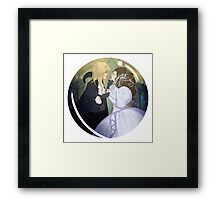 As the World Falls Down. Framed Print