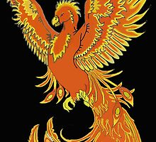 Phoenix Rising by J-CCreations