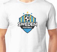 Football crest of Sweden Unisex T-Shirt