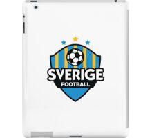 Football crest of Sweden iPad Case/Skin