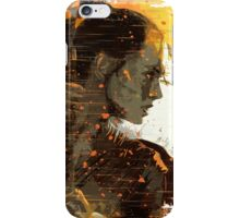 Rey in the sand iPhone Case/Skin