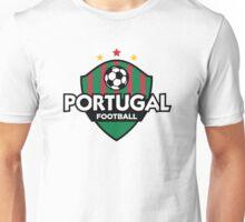 Football crest of Portugal Unisex T-Shirt