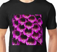 Close-up Foxgloves Unisex T-Shirt