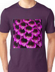 Close-up Foxgloves Unisex T-Shirt