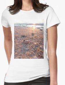Sun, Shells & Sand Womens Fitted T-Shirt