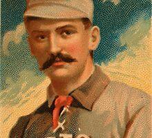 Vintage King Kelly Baseball Card by pdgraphics