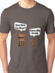 Coffee Bean Grinder Unisex T-Shirt