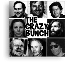 The Crazy Bunch Canvas Print