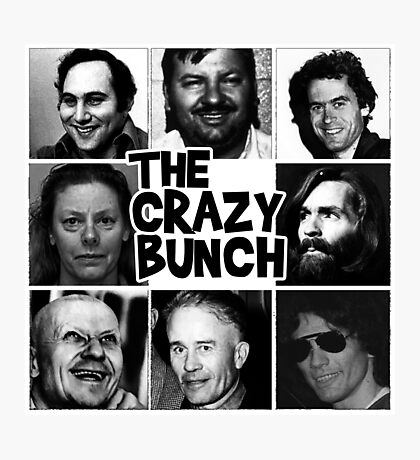 The Crazy Bunch Photographic Print