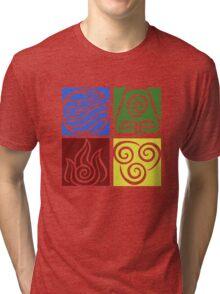 Four Elements - Simple Tri-blend T-Shirt